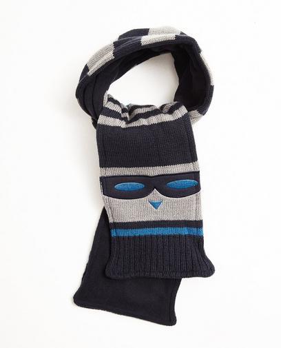 Sjaal met strepenprint